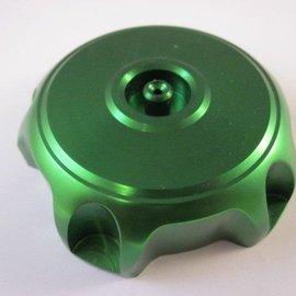 Sendai Tankdop CNC aluminium groen
