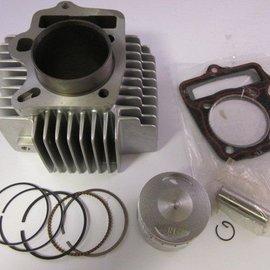 Sendai Cilinderset 110/125cc 52,4 LC1P52FMI (incl. zuiger en pakkingen)