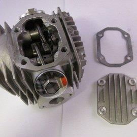 Sendai Cilinderkop 110/125cc compleet met kleppen (52,4mm)