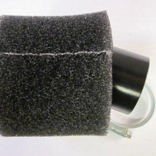 Sendai 4-takt Universeel 44mm spons luchtfilter 45 graden hoek