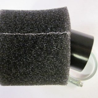 Sendai 44mm spons luchtfilter 45 graden hoek
