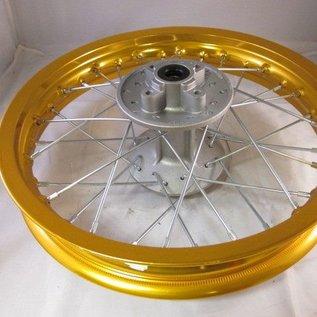 Sendai 12 inch achtervelg aluminium goud