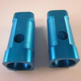 Sendai Mini-Racer Aluminium voorvork blokjes set blauw (3C4)