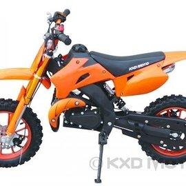 Sendai Minicrosser 49cc KXD 2014 oranje