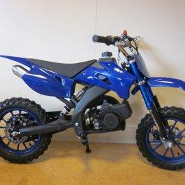 Sendai Minicrosser 49cc KXD 2013 blauw