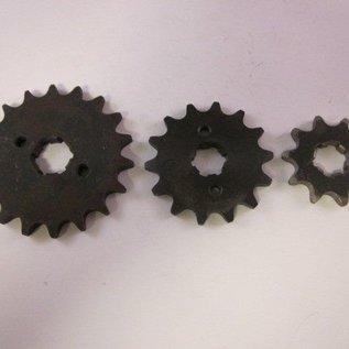 Sendai 18 tands Voortandwiel type: 420 ketting 20mm as