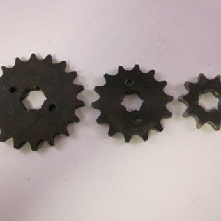 Sendai 4-takt Voortandwiel type: 428 ketting 17mm as - Copy - Copy