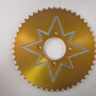 Sendai 4-takt Universeel 48 tands 54-70 (type 420) aluminium GOUD