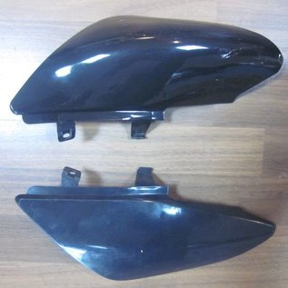 Sendai 4-takt Pitbike/Cross Kappenset 110cc/125cc klein compleet ZWART