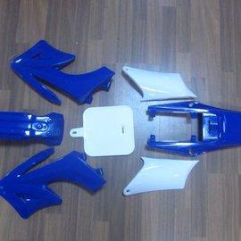 Sendai 4-takt Pitbike/Cross Kappenset 125cc groot BLAUW