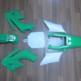 Sendai 4-takt Pitbike/Cross Kappenset 125cc groot GROEN