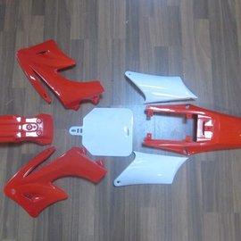 Sendai 4-takt Pitbike/Cross Kappenset 110cc/125cc klein BLAUW - Copy - Copy - Copy