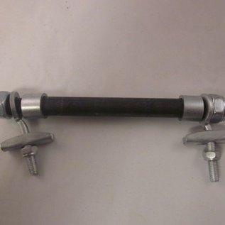 Mini-crosser achter-as 14.5cm 12mm
