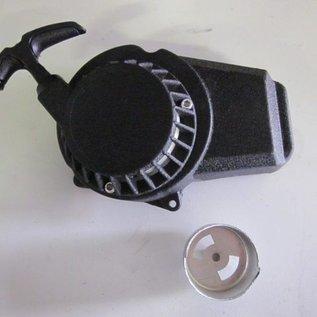 Sendai Trekstarter easy pull zwart METAAL