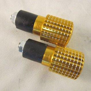 Sendai Stuurdoppen aluminium goudkleur