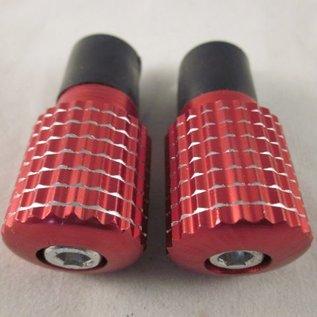 Sendai Stuurdoppen aluminium rood