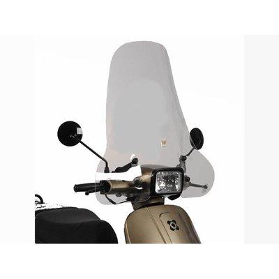 AGM VX50 S Windscherm Isotta hoog model blanco VX50S