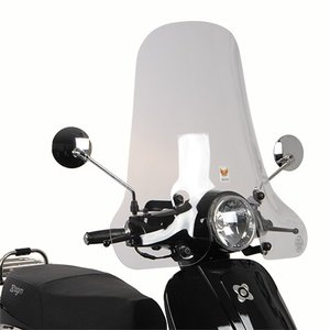 AGM VX50 Windscherm Isotta hoog model blanco VX50