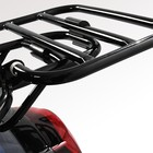 AGM VX50 Klaprek achterdrager zwart VX50/VX50S