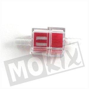 A-Merk Universeel benzinefilter vierkant 7mm