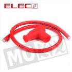 A-Merk Bougie dop + kabel rood