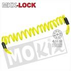 A-Merk MKX Warnkabel Disc gelb 150cm