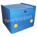 A-Merk Pizza Koffer blau doppelt isoliert 90 Liter
