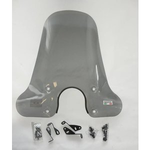 A-Merk Windscherm Isotta hoog model SMOKE VX50