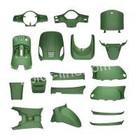 A-Merk plaatset AGM VX50 mat groen