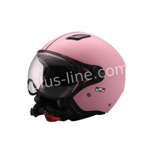 A-Merk helm vito jet moda mat roze