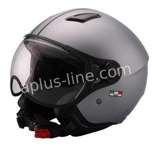A-Merk helm vito jet moda mat grijs