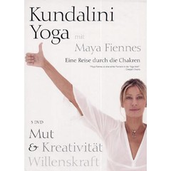 Maya Fiennes Kundalini Yoga with Maya Fiennes | Courage, Creativity & Willpower - 3DVD