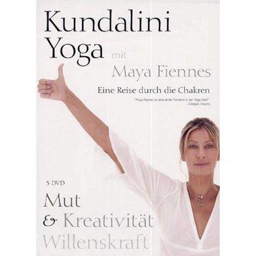 Maya Fiennes Kundalini Yoga with Maya Fiennes | Courage, Creativity & Willpower - 3DVD
