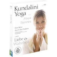 Maya Fiennes Kundalini Yoga with Maya Fiennes | Love & Truth - 2 DVD