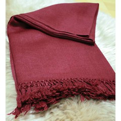 Meditation Blanket Kashmiri - Red