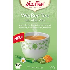 Yogi Tea® White Tea with Aloe Vera