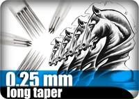 0,25mm long taper