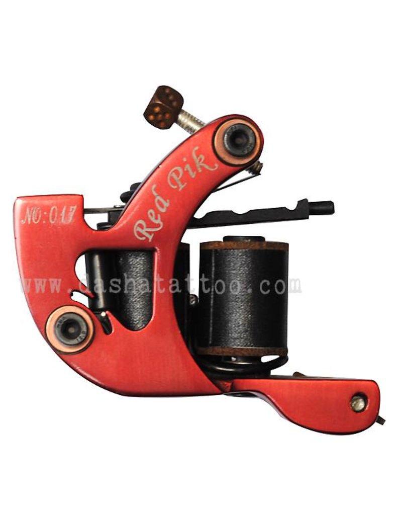 POKER RED PIK liner tattoo machine