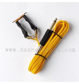 Clipcord with jack plug - yellow