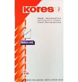 Kores hectographic paper
