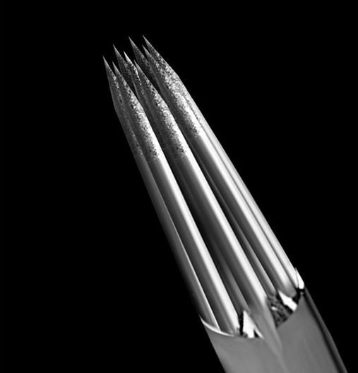 Kwadron tattoo needles rl 0 35mm textured dashatattoo for How to make a tattoo needle