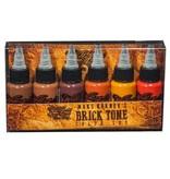 Maks Kornev's Brick Tone Color Set - 1oz - 6x30ml