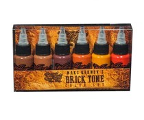 Maks Kornev's Brick Tone Color Set - 1oz - 6x30ml