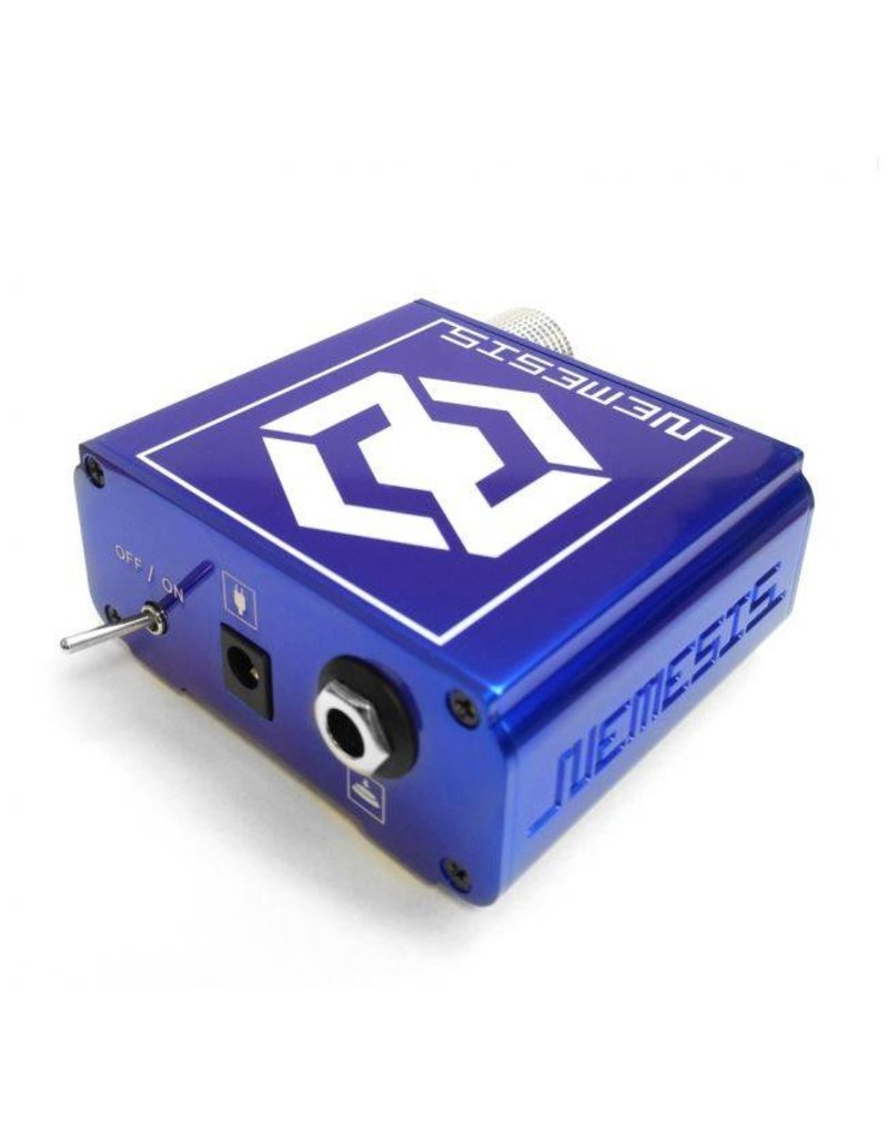 NEMESIS tattoo power supply - blue