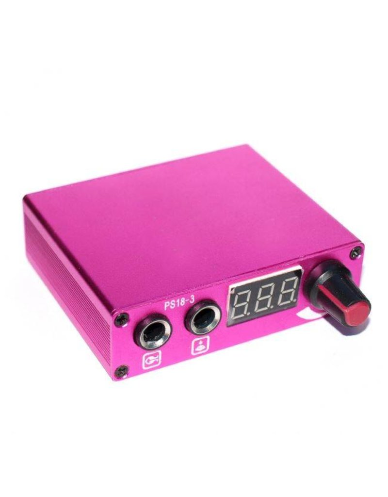 Mini power supply - pink
