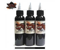 WORLD FAMOUS INK World Famous Ink, Charcoal Greywash SET 3 x 120ml