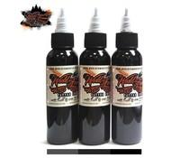 WORLD FAMOUS INK World Famous Ink, Charcoal Greywash SET 3 x 120ml