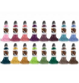 WORLD FAMOUS INK - A.D. Pancho ProTeam Colorset - 16x30ml