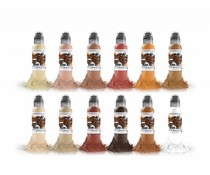 WORLD FAMOUS INK World Famous Skintone Ink Set 12 x 30ml