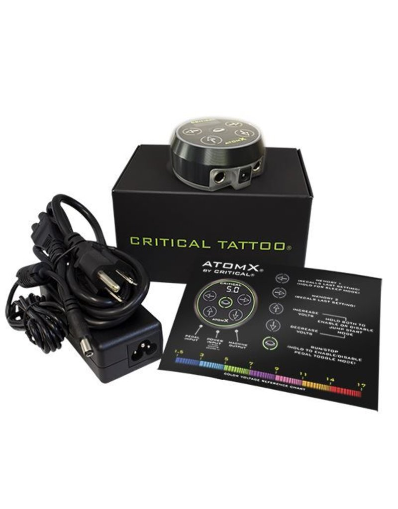 CRITICAL TATTOO® ATOM-X powesupply  black